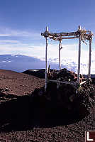 Alter on Top Of Mauna Kea