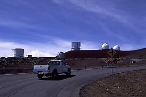 Approaching Top Of Mauna Kea