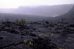 Entering the Kilauea Iki Crater