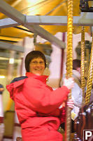 Mom On Carousel