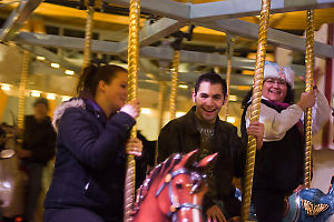 Nathan Ashley And Allison On Carousel