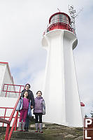 Sheringham Point Lighthouse Grandma And Kids