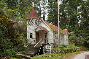 Church In Whaletown
