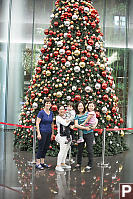 Bountiful Christmas Tree In Hong Kong