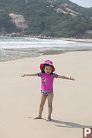 Nara Owns The Beach