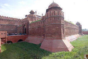 Red Fort Entrance