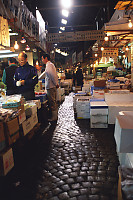 Row In Fish Market