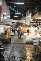 Cobble Stone Floors In Fish Market