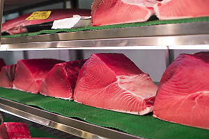 Slabs Of Very Red Tuna