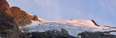 Sunset On Stonecrop Glacier Pano