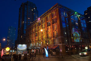 Projecting Onto Buildings