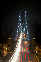 Lionsgate Bridge In The Rain