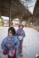 Snowballs Under Bridges
