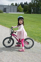 Claira After Her First Bik Ride