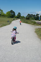 Biking In Jericho Park