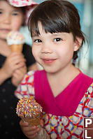 Claira With Chocolate Cone