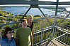 Standing On Lookout Tower