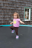 Lexi Stomping On Trampoline