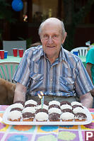 Grandfather And His Cupcakes