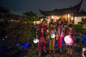 Four Girls Three Lanterns
