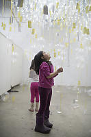 Nara Looking Up At Balloon Project