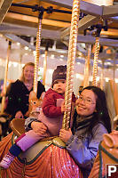 Nara And Helen On Carousel