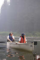 Sean And Catherine In Canoe