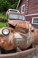 Rusting Dodge At Telegraph Cove