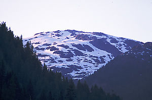 Glacier on Hill
