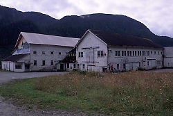 Cannery at Ocean Falls