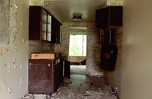 Wrecked Interior of Apartment
