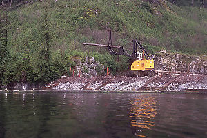 Log Loading Crane at Doc Creek (Nootsum River)