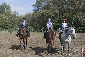 Three Riders Trained