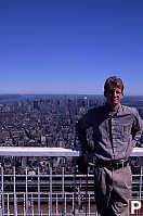 Jesse on Top of World Trade Center