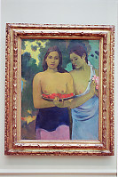 Paul Gauguin Two Tahitian Women With Mango Blossoms