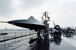 SR 71 On Intrepid