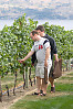 Eric And Jer Looking At Grapes
