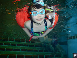 Claira In Swimming Pool