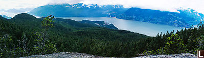View Over Howe Sound