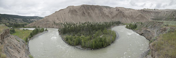 UBend In Chilcotin River