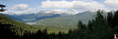 View To Wedgemount And Whistler
