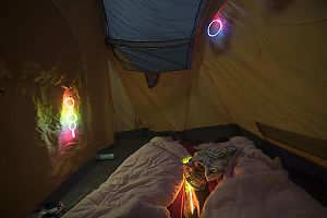 Sleeping With Glow Sticks