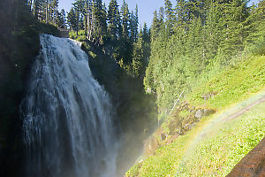 Rainbow Near Narada Falls