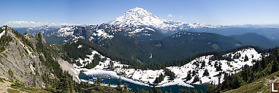 Mount Rainier From Tolmie Station