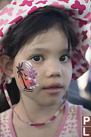 Claira With Facepaint