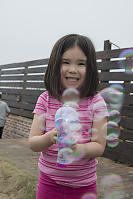 Nara With Bubble Gun
