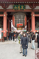 In Front Of Senso Ji Thunder Gate