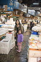 Helen And Nara Looking In Boxes