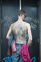Nico And His Back Tattoo