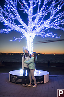 Kids With Glowing Tree
